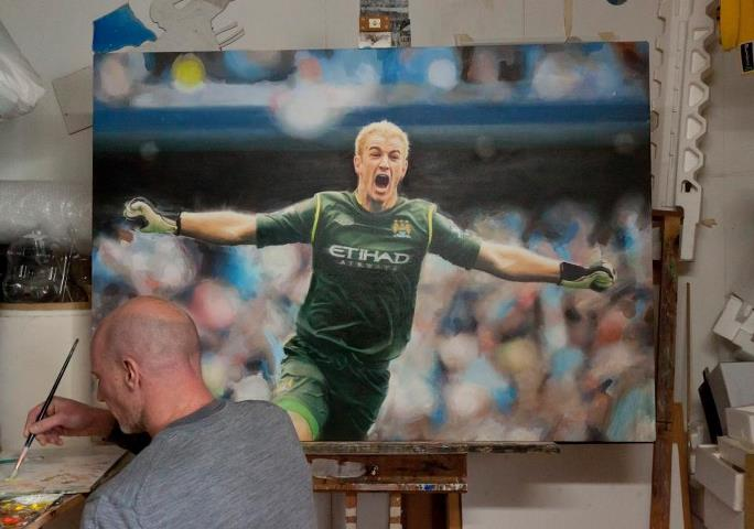 Joe Hart almost finished